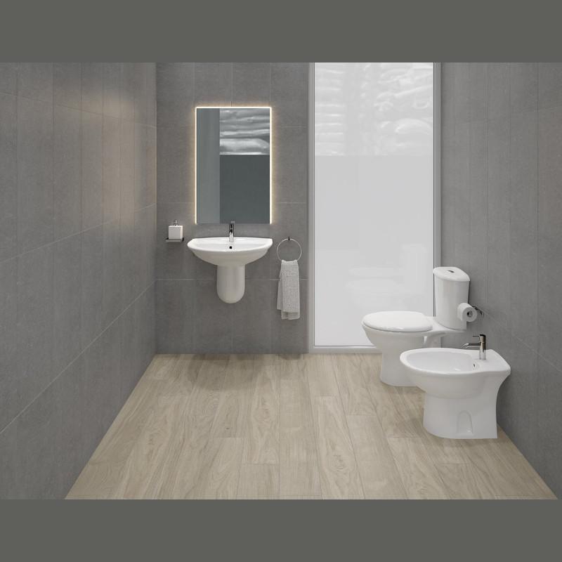 Bidet sospeso in ceramica rak serie karla kabi00002 for Ceramica arredo bagno