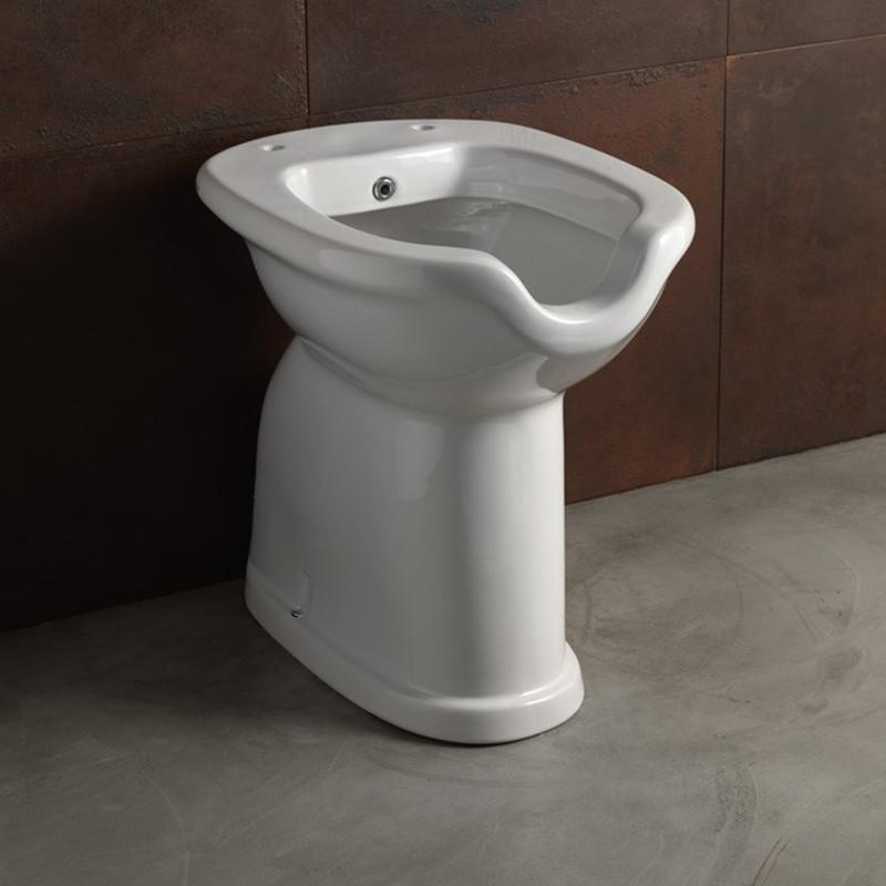 Vaso con bidet per disabili alice ceramiche serie confort for Arredo bagno per disabili